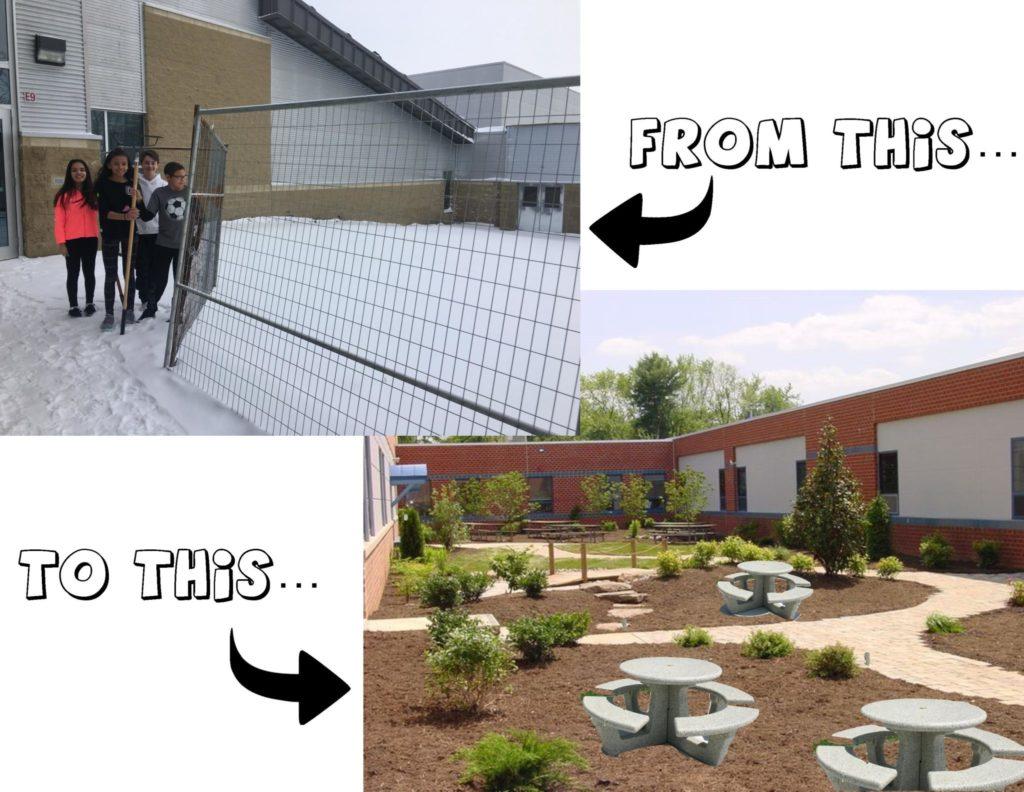School Yard Landscaping – Peace Garden — Over 2000 Votes