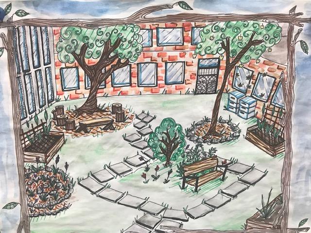 Courtyard Edible Landscape Classroom