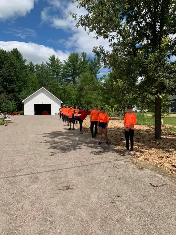 MDJ Coopérative Jeunesse de Pontiac community gardens project